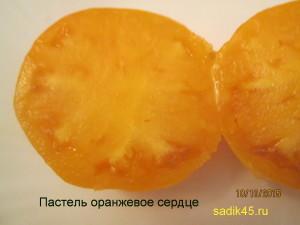 пастель оранжевое сердце (10)