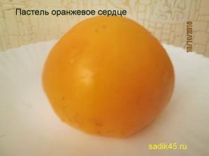 пастель оранжевое сердце (8)
